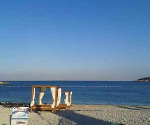 Beach near of apartment for rent, Utjeha Montenegro