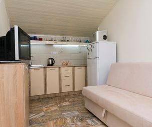 Kitchen of apartment for rent with amazing sea view Utjeha Montenegro